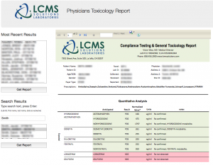 Physicians Toxicology Report